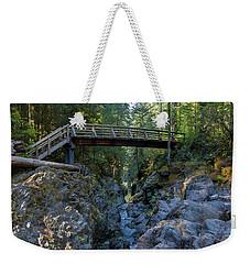 Opal Creek Bridge Weekender Tote Bag