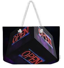 Open 2 - Weekender Tote Bag