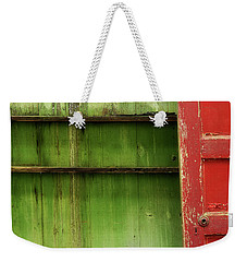 Weekender Tote Bag featuring the photograph Open Door by Mike Eingle