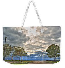 Weekender Tote Bag featuring the photograph Open Heavens  by Michael Frank Jr