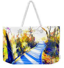 Open Pathway Meditative Space Weekender Tote Bag