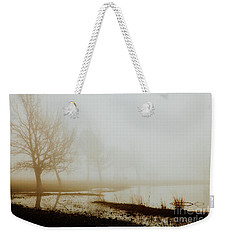 Weekender Tote Bag featuring the photograph Open Space by Iris Greenwell