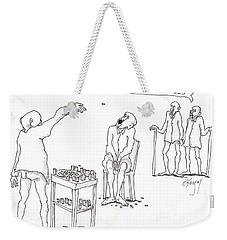 Open Up Weekender Tote Bag