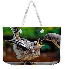 Open Wide Weekender Tote Bag
