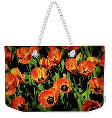 Open Wide - Tulips On Display Weekender Tote Bag