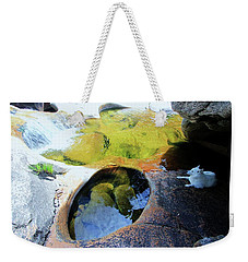 Open Your Mind....the Heart Will Follow Weekender Tote Bag by Sean Sarsfield