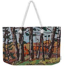 Opinicon November Forest Weekender Tote Bag
