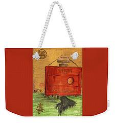Weekender Tote Bag featuring the painting Opium by P J Lewis