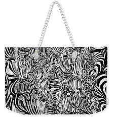 Weekender Tote Bag featuring the photograph Opposites Attract by Nareeta Martin