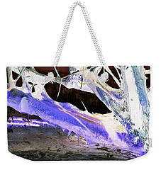 Oppostracts 17 - Dripping In Purple Weekender Tote Bag