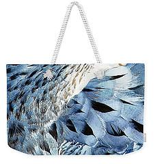 Blue Limpkin Weekender Tote Bag