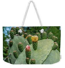Opuntia Cactus Weekender Tote Bag