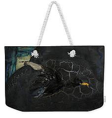 Oracular Inquiry - Ecological Footprint - Drilling Permits - Crude Oil Offshore Energy - Das Orakel Weekender Tote Bag