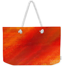 Orange 1 Weekender Tote Bag by Thibault Toussaint