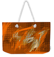 Orange Abstract Art - Orange Filter Weekender Tote Bag