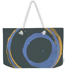Orange And Blue 3 Weekender Tote Bag