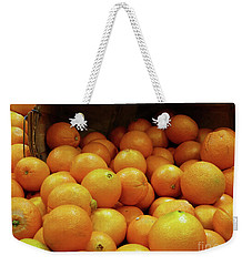 Orange Basket Weekender Tote Bag