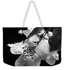 Orange Blossom Weekender Tote Bag by Elaine Hunter