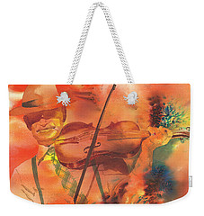 Orange Blossom Special Weekender Tote Bag by Tara Moorman