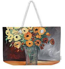 Orange Blossoms Weekender Tote Bag by Terri Einer