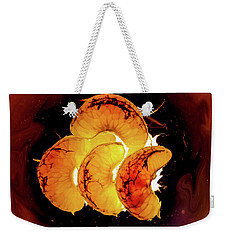Orange Choc Weekender Tote Bag