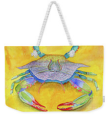 Orange Crab Weekender Tote Bag
