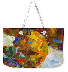 Orange Flash Weekender Tote Bag