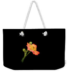 Orange Flowers In The Summer Weekender Tote Bag