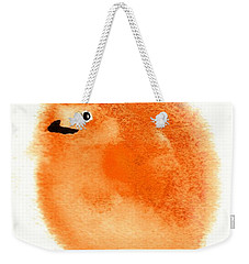 Orange Fluff Weekender Tote Bag