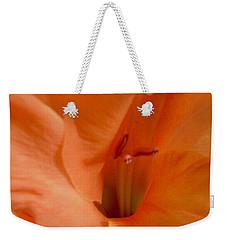 Orange Glad Weekender Tote Bag