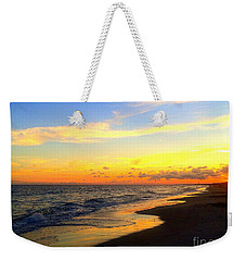 Orange Glow Sunset Weekender Tote Bag