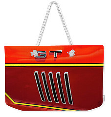 Weekender Tote Bag featuring the photograph Orange Gt by Melinda Ledsome