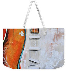 Orange Guitar Weekender Tote Bag