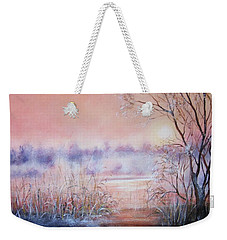 Orange Mist Weekender Tote Bag