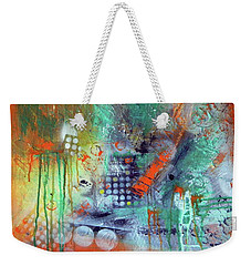 Orange Optimist Weekender Tote Bag
