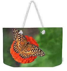 Orange Orange Green Weekender Tote Bag