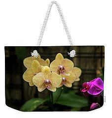 Orange Orchids Weekender Tote Bag