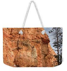 Orange Pillar Weekender Tote Bag by Greg Nyquist