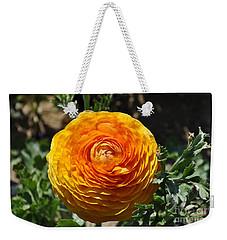 Orange Ranunculus Weekender Tote Bag