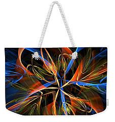 Orange Ribbons Weekender Tote Bag