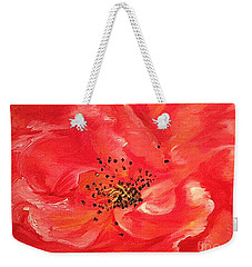 Orange Rose Weekender Tote Bag