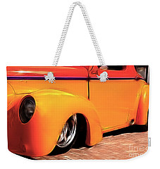 Orange Rush - 1941 Willy's Coupe Weekender Tote Bag