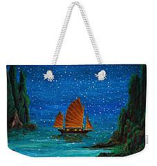 Orange Sail Weekender Tote Bag