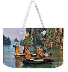 Orange Sails Asian Cruise Vietnam  Weekender Tote Bag