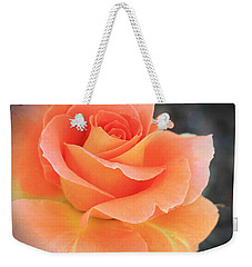 Weekender Tote Bag featuring the photograph Orange Sherbert by Marna Edwards Flavell