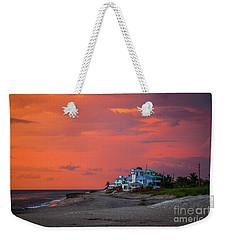 Orange Sky Beach House Weekender Tote Bag