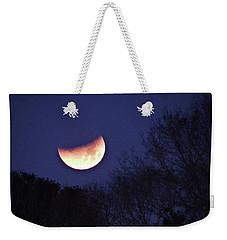 Orange Slice Moon 2018 Weekender Tote Bag