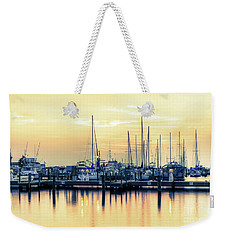Weekender Tote Bag featuring the photograph Orange Sorbet by Maddalena McDonald