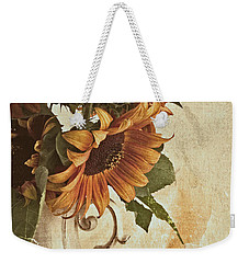 Orange Sunflowers - Found In The Attic Weekender Tote Bag