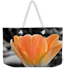 Orange Tea Cup Tulip Weekender Tote Bag